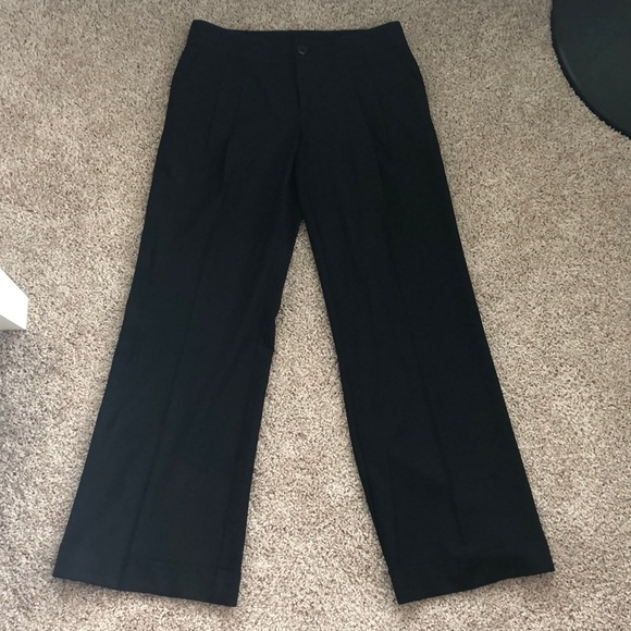 Mossimo Supply Co. Pants - black pleated cuffed missimo pants